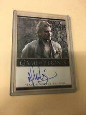 2012 Game of Thrones Nikolaj Coster-Waldau Jaime Lannister signed Autograph