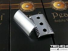 Replacement Part Pearl Open Comb Head for Double Edge Shaving Razor