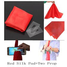 New Magic Prop Tool Magic Red Silk Thru Phone by Close-Up Street Trick Show