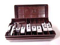 Vintage soviet set of spare parts for sewing machine. Original. USSR lot