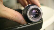SUPER 16 Germany S-coronar 25.5mm f1.9 cine  bmpcc gh4 4k bolex c mount  lens