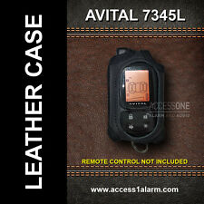 Avital 7345L 2-Way Lcd Leather Remote Control Case for Avital 5305L