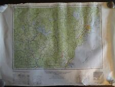 1949 - Large Geographic Map of Portland, Maine - Army Map Service