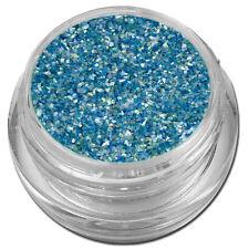 Muschelsplitter Crushed Shells Glitter Glitzer Blau Blue Nail Art #00211-14