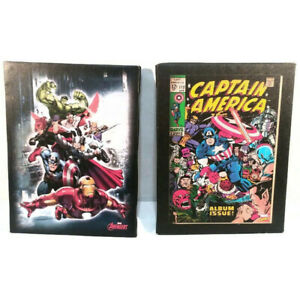 """Marvel 8 3/4"""" x 6 1/2"""" Canvas Wall Hangings Captain America & Avengers"""