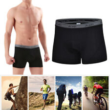 Men Cycling Pants 3D Silicone Padded Quick Dry Underwear Shorts Mesh Breathable
