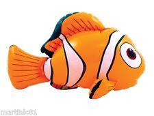 Gonfiabile Clown Pesce Mare FANCY DRESS Toy gonfiare arancione NEMO 45cm Novità Regalo