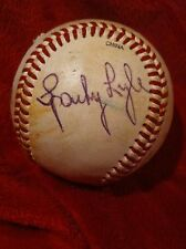 Autographed Sparky Lyle Wilson A1010 Baseball Phillies Yankees  Red Sox Rangers