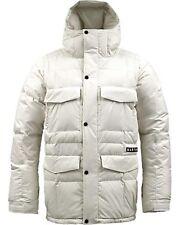 Burton Crackdown Snowboard Jacket (L) Stout White
