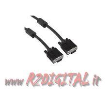 Kabel VGA M / Bildschirm 15-polig Verlängerung Stecker 10m 10 10 mt 10mt