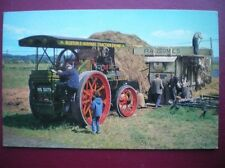 POSTCARD  RUSTON & HORNSBY TRACTION ENGINE NO 113812