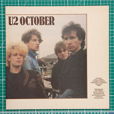 U2 - October. Vinyl LP album record
