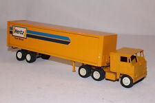 Winross 1970's Hertz Truck Rental Semi Truck, Nice Original