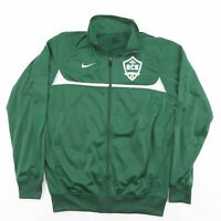 Vintage NIKE Green Zip Up Track Shell Sports Jacket Mens Size Small