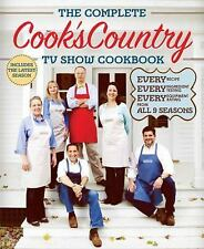 THE COMPLETE COOK'S COUNTRY TV SHOW COOKBOOK BOOK BY  BRAND NEW