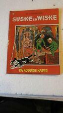 SUSKE EN WISKE T74 DE KODDIGE KATER Réedition 1971 BON  ETAT