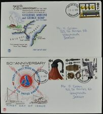 GB FDC 1972 BBC Broadcasting, Dorchester FDI Set #C51551