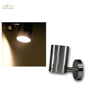 LED Wall Light Stainless Steel 1-flammig Warm White Outdoor Light Outdoor Lamp