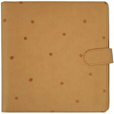 Kaisercraft Tan With Embossed Spots Undated Planner SA055