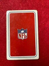 SINGLE 1 PLAYING SWAP CARD - NFL LOGO     (TT187S)