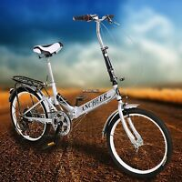 6 Speed Folding Travel Commuting Cycling Bicycle Bike / Carrier Bike Rear Racks