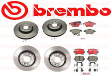 Vw GTI 2006-2011 Front + Rear Brake Kit Rotors Pads Brembo OEM with 282mm Rear