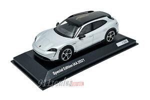 1:43 Porsche Taycan Turbo S Cross Turismo IAA 2021, Minichamps, WAP0207880NTT