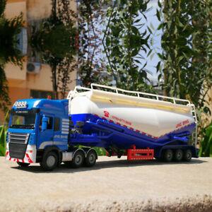 1:50 Semi-Trailer Tank Truck Cement Transporter Alloy Car Model Children's Toys