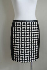 Cotton Blend Plaids & Checks Machine Washable Regular Skirts for Women