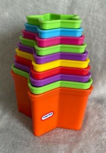 Little Tikes - Star Stack Cups - Good Condition