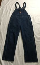 Vtg Big Ben Overalls Bib Jeans Blue Mens 40x31 Farmer Carpenter Workwear USA