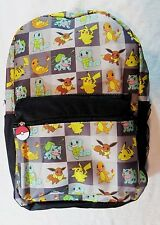 Pokemon Backpack Squares Group(EVERY POKEMON CHARACTER) GREAT BACKPACK
