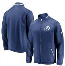 NWT Men's Tampa Bay Lightning Blue Authentic Pro Rinkside Full-Zip Jacket L $150