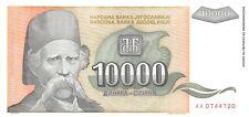 Yugoslavia 10000 Dinara 1993 Unc pn 129a