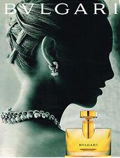 PUBLICITE ADVERTISING 025  1997  BULGARI  parfum femme joaillerie