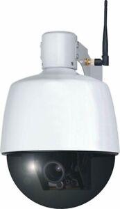 ELRO C904IP.2 Plug und Play WIFI Netzwerk PTZ Dome Kamera mit optischem Zoom