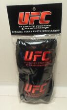 UFC Official Terry Cloth Wristbands - black - NEW, sealed
