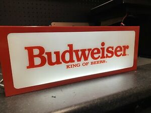 Budweiser Lager Light Box