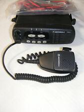 Motorola CDM 750 UHF Radio 450-512 MHz 40 Watt 4 Ch 20 Pin With Accessories