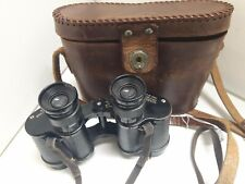 TAYLOR-HOBSON Ww2 1942 Binoculars **With original leather lanyard & case**