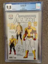 Avengers (Volume 7) #40 CGC 9.8 design variant Namor Wolverine Captain America