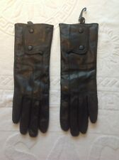 Long Black Leather Lined Soft Ladies Winter Evening Party Women Gloves.New.14.99