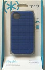 Speck PixelSkin Case -Cobalt for iPhone 4S/4 SPK-A0793 NIP