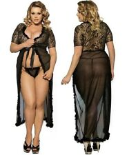 Full Length Lace Robes Lingerie & Nightwear for Women