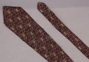 robert Talbott for Nordstrom Best of Class Silk Neck Tie Pattern Beige FREE SHIP