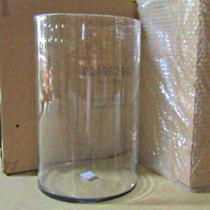 "10"" x 16"" Clear Glass Cylinder Vase Hand-Blown Great for Large Centerpiece"