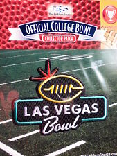 Official NCAA College Football Las Vegas Bowl 2017/18 Patch Boise State & Oregon