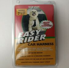 "Top Paw Easy Rider Car Dog Harness Complete Seat Belt Restraint Small 16"" - 24"""