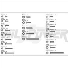 X1CRT Screw Bag #XT-25 (RC-WillPower) Hongnor Jammin 1:8 1/8 Nitro Gas Truggy