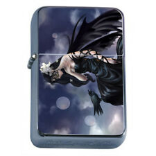 Hot Anime Witches D7 Flip Top Dual Torch Lighter Wind Resistant